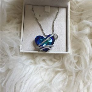 NWOT Qianse Heart of Ocean Necklace